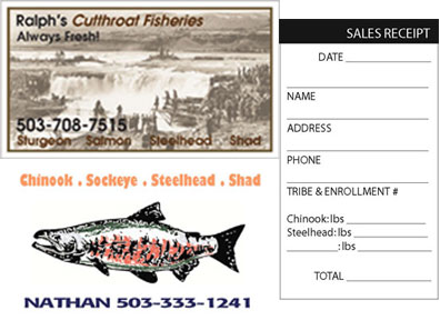 Fisherman Business Cards