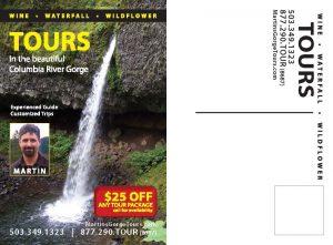 Martin's Gorge Tours Postcard