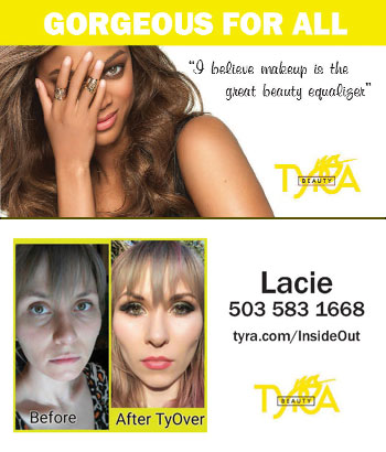 Tyra Beauty Business Card