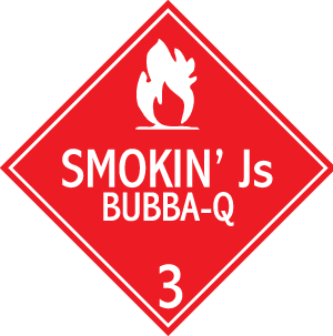 Smokin' Js Bubba-Q Sign