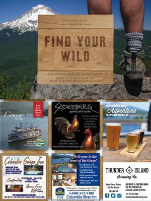 Cascade Locks Tourism Co-op Ad