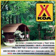 Cascade Locks KOA