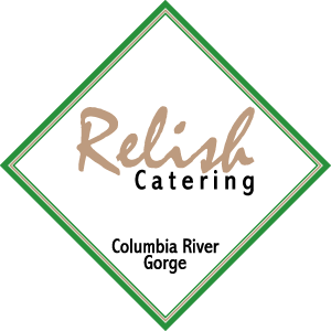 Relish Catering Sign