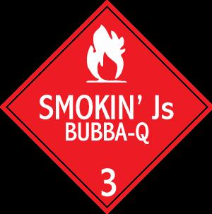 Smokin' Js Bubba-Q Sign