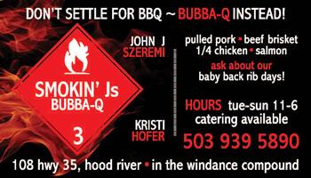 Smokin' Js Business Card